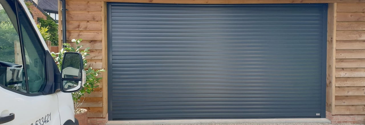 Home garage doors in  Stoke-on-Trent