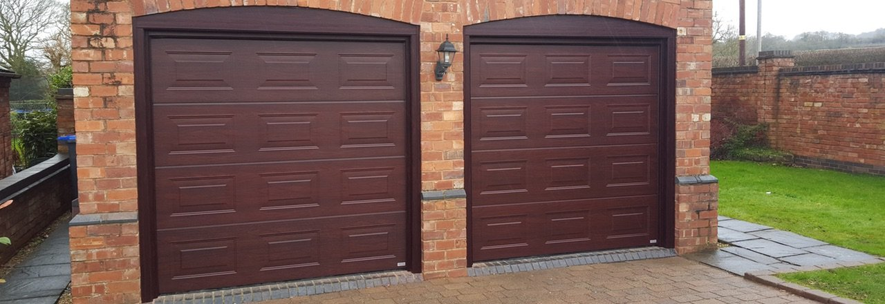 Protec doors for a residential garage commercial or for Wood garage doors michigan