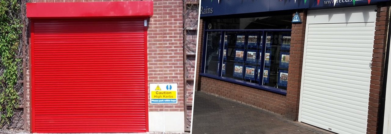 Industrial & Commercial door installation in Stoke-on-Trent
