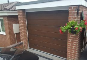 Sectional Garage Door Stoke