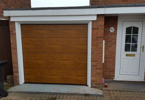 Domestic Sectional Garage Door