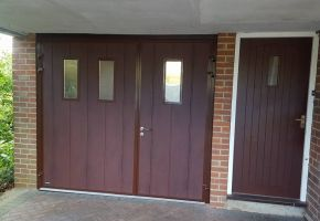 Sectional Residential Garage Door