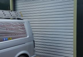 Protec Doors completing Commercial Roller Door