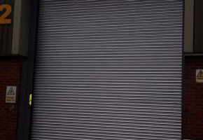 Industrial bay 2 roller shutter door