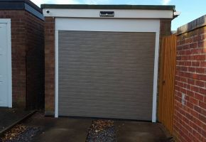Residential Roller Garage Door