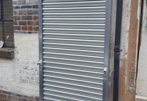 Business roller shutter door