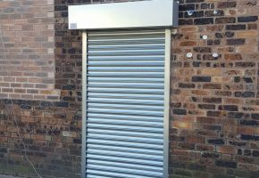 Roller shutter door near Hanley duck