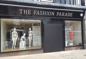 Roller shutter door in Uttoxeter at  Fashion Parade