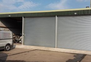 3 door commercial garage doors