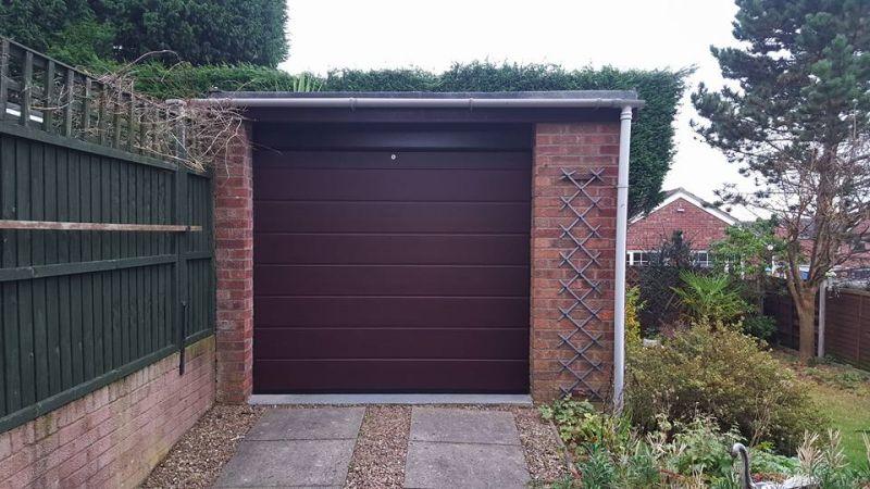 Attractive Residential Sectional Garage Door