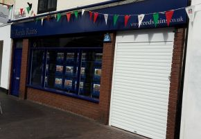 Reeds Rains roller door - Stoke-on-Trent