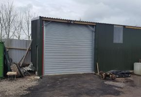 Commercial shutter doors installed in Stafford Area
