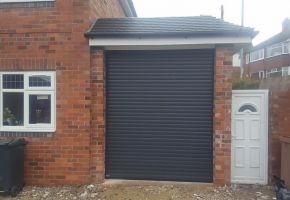 Insulated Garage Roller Shutter Doors